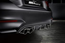 BMW M4 GTS rear diffuser
