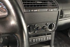 BMW E36, E34, Z3 radio delete blanking plate