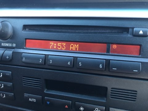 How to adjust E46 clock setting