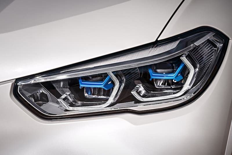 BMW G05 X5 laserlight headlights
