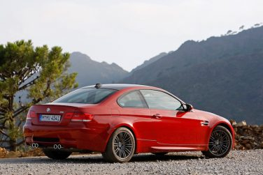 BMW E92 M3 Melbourne red