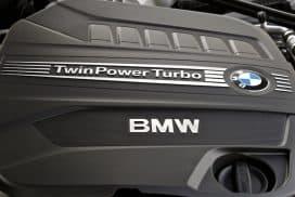 BMW twinpower twin scroll turbo
