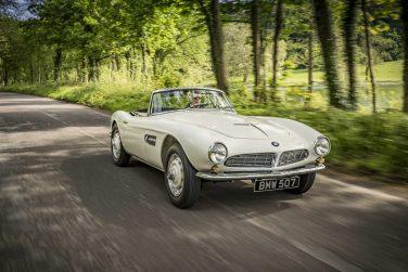1957 BMW 507 white