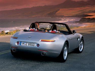 2003 BMW Z8 rear