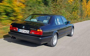BMW E32 750il tail lights
