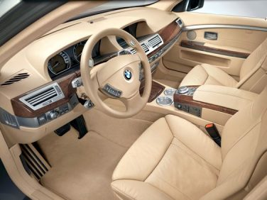 BMW E65 7 series interior