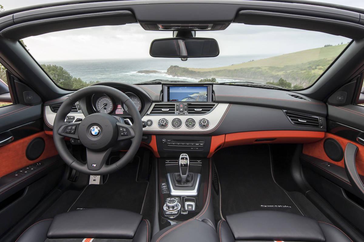 BMW E89 Z4 interior