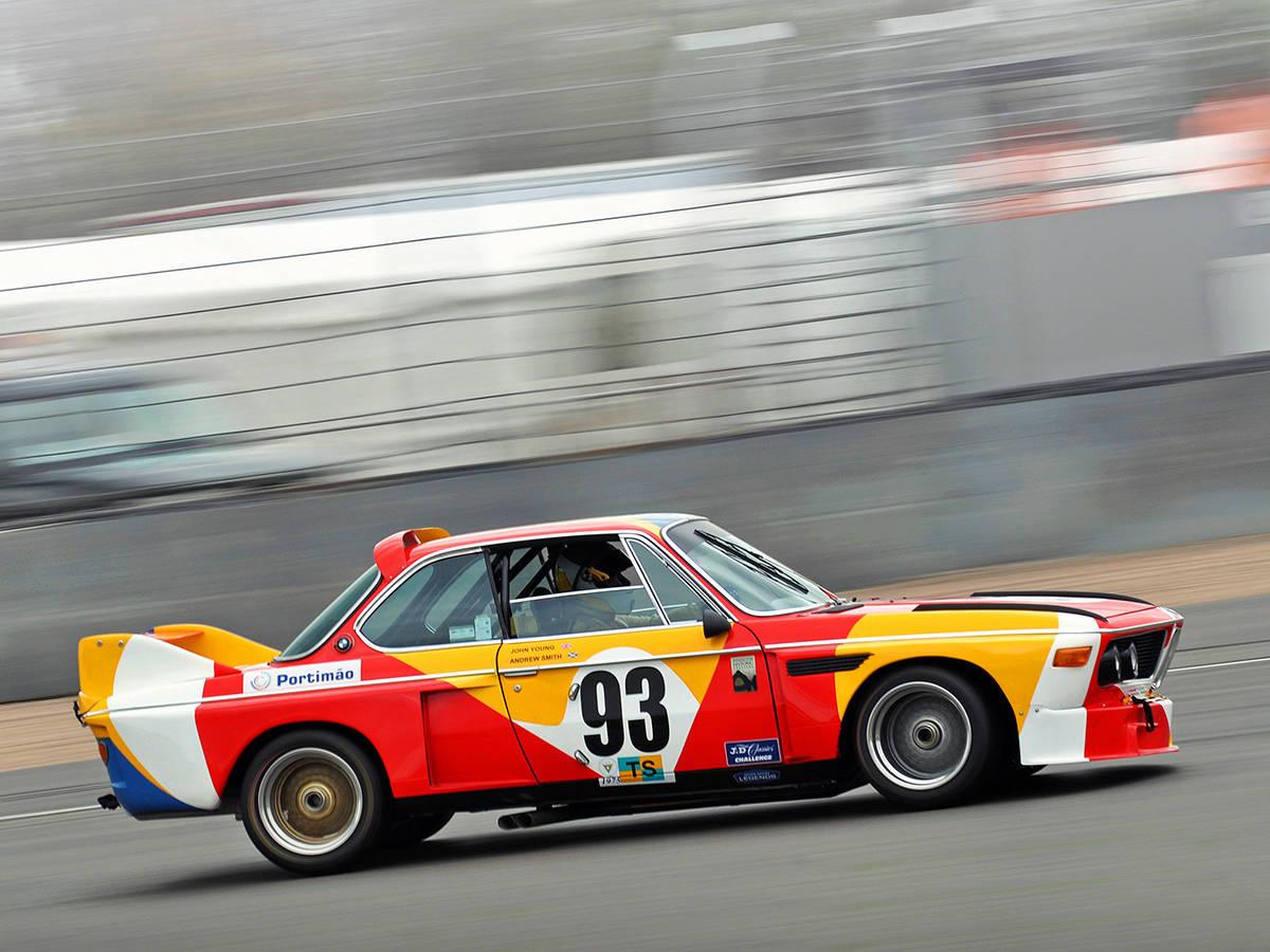 BMW E9 CSL 3.0 art car Alexander Calder