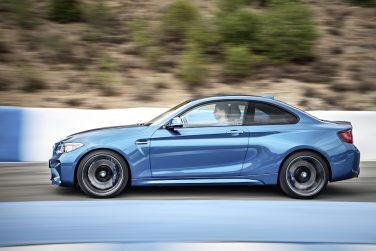 BMW M2 side view