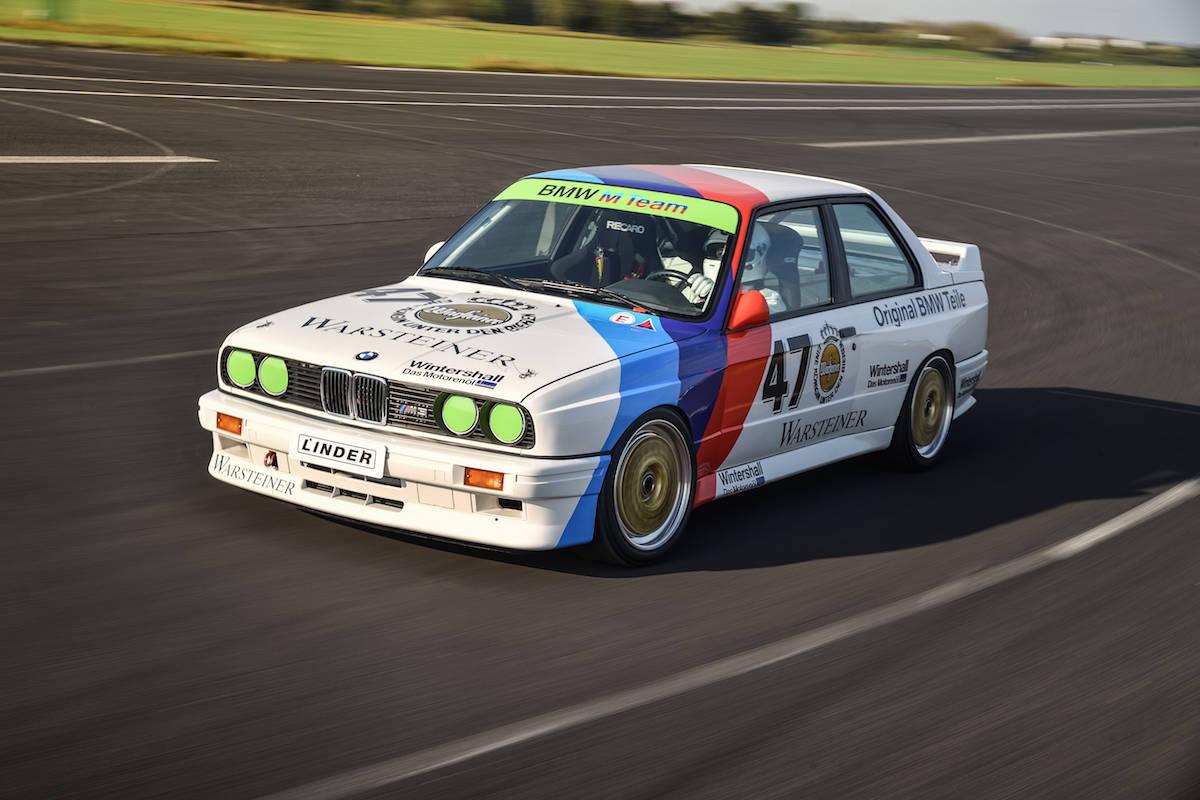 BMW E30 M3 DTM race