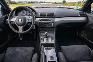 BMW E46 CSL M3 Interior
