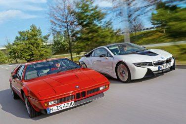 BMW M1 vs BMW i8