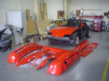 BMW Z1 body panels