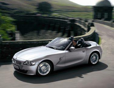 BMW E85 Z4 aluminum hood