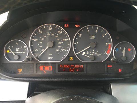 E46 Mileage tamper dot