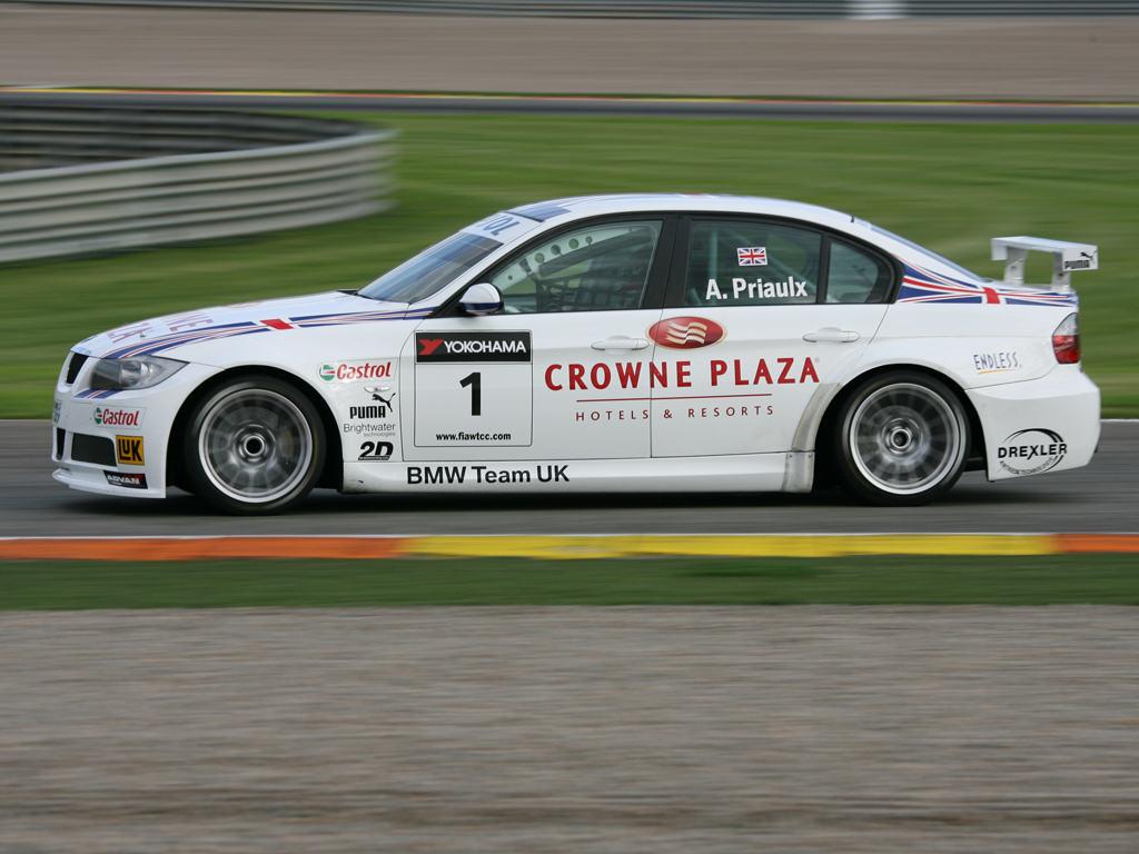 BMW E90 dtm racing