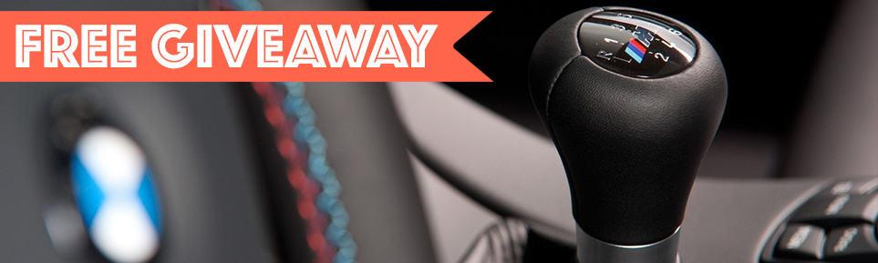 BMW ZHP Shiftknob giveaway