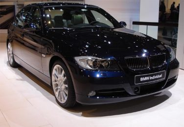 BMW individual blue onyx