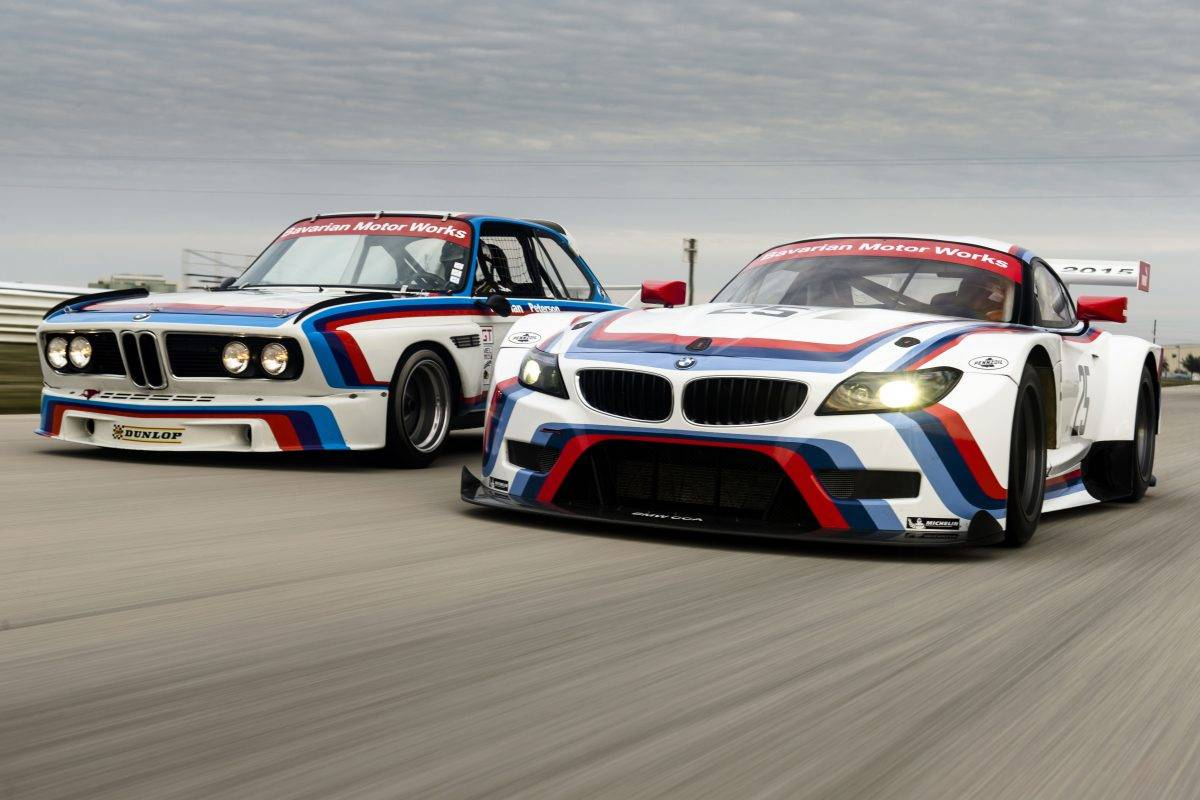 Origin Of Bmw Motorsport M Stripe Colors