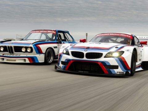 BMW M Motorsport stripe colors