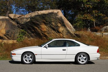 1995 BMW 850CSi alpine white
