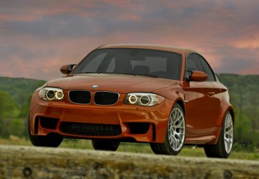 2011 BMW E82 1M coupe valencia orange