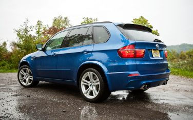 2012 BMW X5 M blue rear left