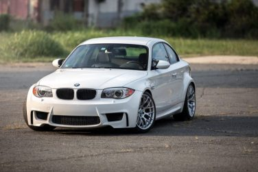 BMW 1M alpine white