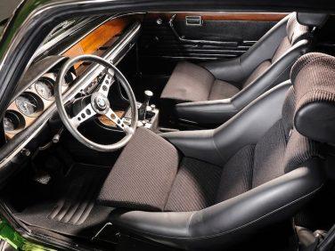BMW E9 3.0 CSL interior seat
