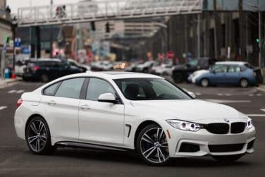 BMW 4 series gran coupe white
