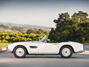 BMW 507 roadster white