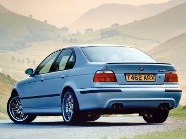 BMW E39 M5 rear view