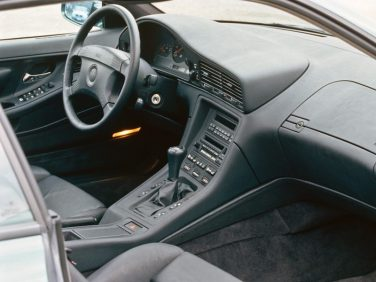 BMW E31 8 series interior