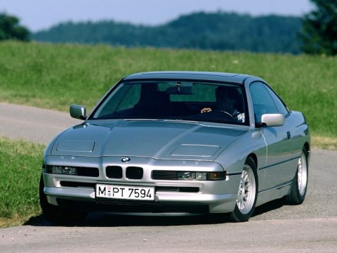 BMW E31 8 Series Silver