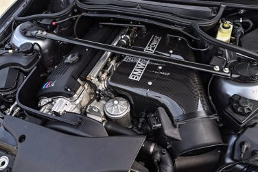 BMW E46 M3 CSL Engine bay
