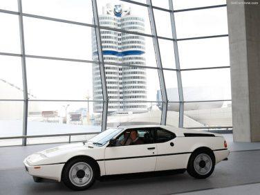 1979 BMW M1 white