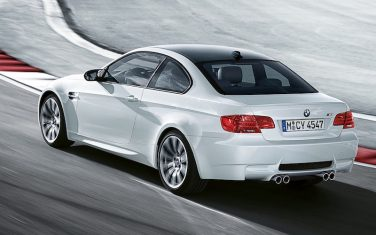 BMW E92 M3 coupe white