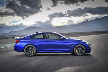 BMW M4 CS San Marino Blue