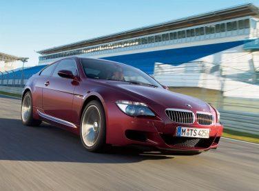 BMW E63 M6 coupe