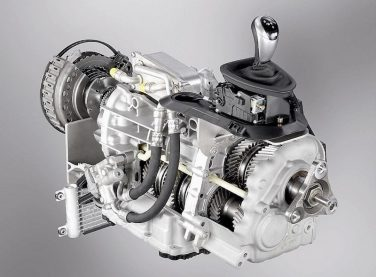 BMW M6 dual clutch transmission