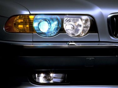 BMW 7 series E38 xenon headlights