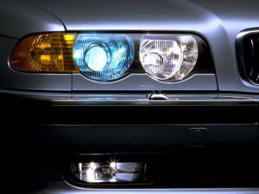 BMW 7 series E38 xenon headlights