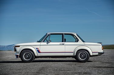 BMW 2002 turbo side view