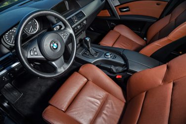 BMW E60 5 series interior