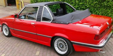 BMW E21 baur red