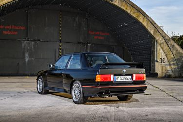 BMW E30 M3 Sport Evolution Black