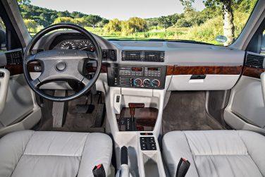 BMW E34 interior