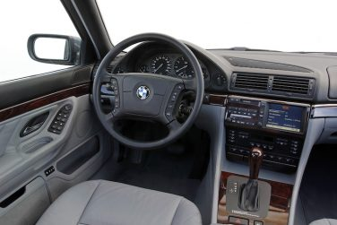 BMW E38 7 series interior navigation