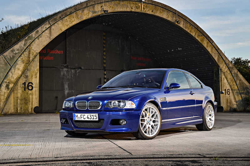 BMW E46 M3 Interlagos Blue