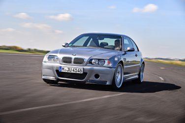 BMW E46 M3 CSL front view